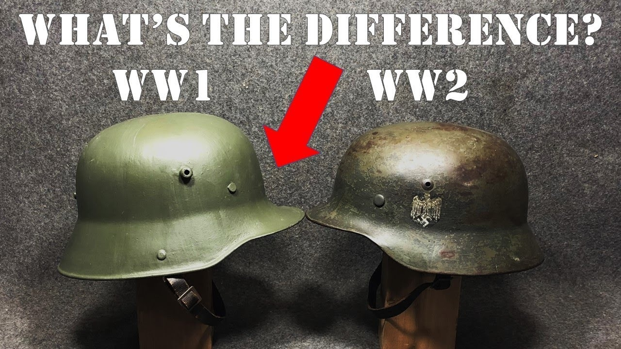 Why were WWII helmet designs so different by country and which