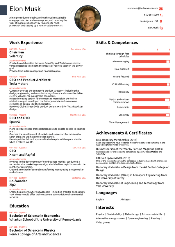 Hereu0027s An Example Of One Page Resume,  Resume How Many Pages