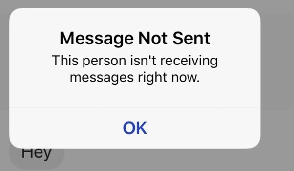 If you block messages on android  How does the sender see