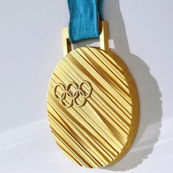 Les médailles d'or sont elles vraiment en or ? - Quora