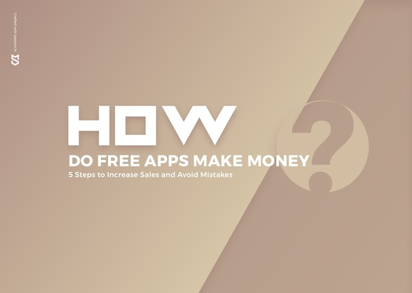 How do free apps make money from users without advertising
