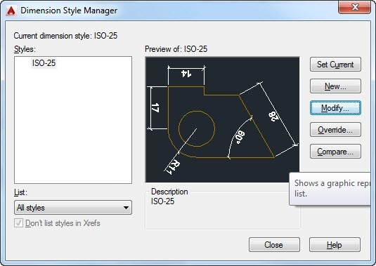 how to change scale of dimensions in autocad