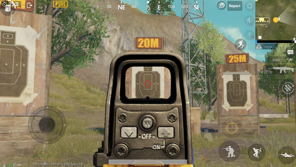 Which is useful, holographic sight or red dot sight in PUBG mobile