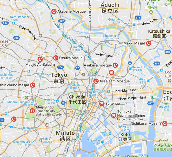 Is there any mosque in Tokyo? - Quora