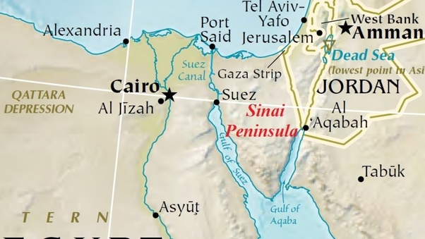 Could it be that the real Mount Sinai is located in modern