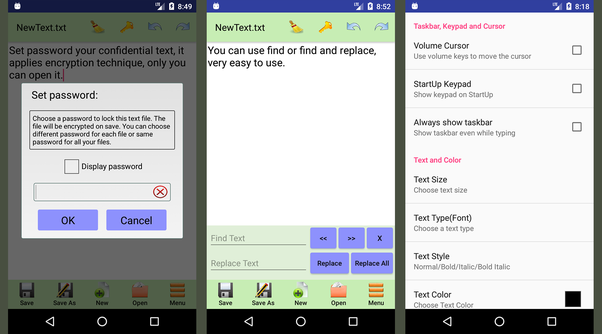 What is the best text editor for Android? - Quora
