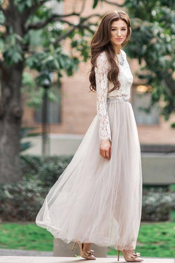 Full sleeved maxi dresses