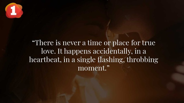 What's your favourite relationship quote? - Quora