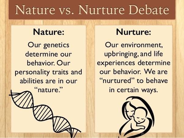 Nature vs nurture debate essay