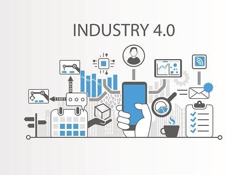 ilustrasi contoh kemajuan industri 4.0