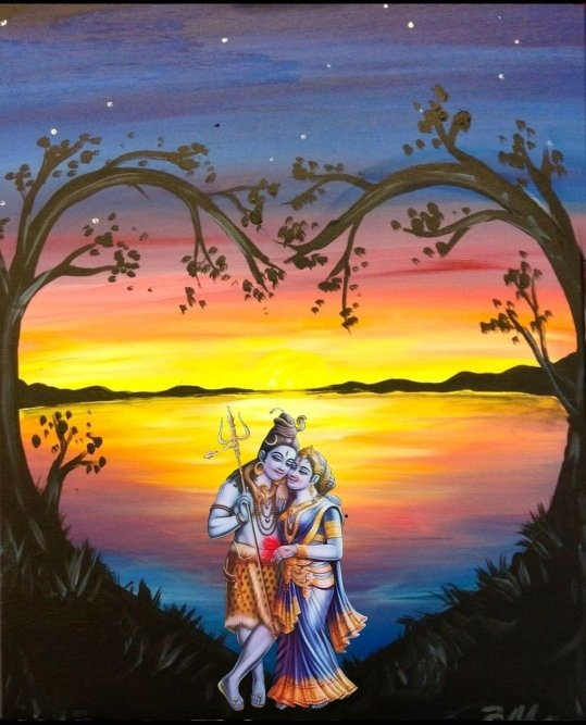 If Lord Rama - Sita and Lord Shiva - Parvati are ideal couples, why