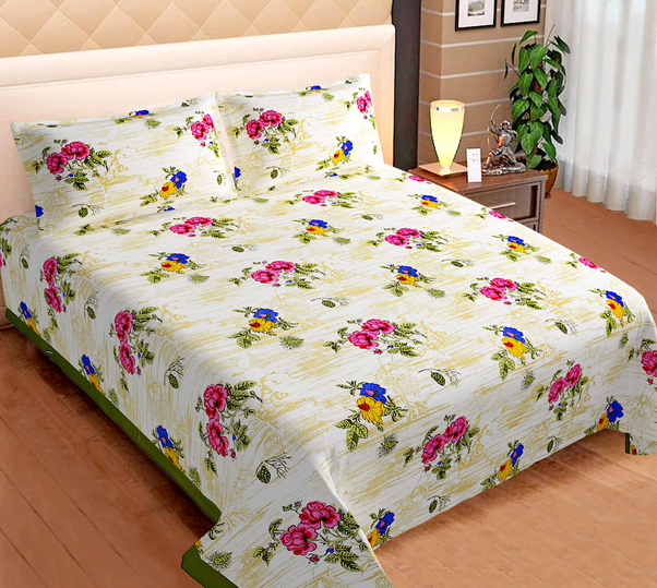 These Elegant Bed Sheets Are Very Soft Which Makes It Ultra Comforting To Get A Good Sleep During Night If You Interested In Ing Jaipuri