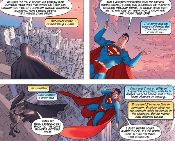 Do Batman and Superman hate each other? - Quora