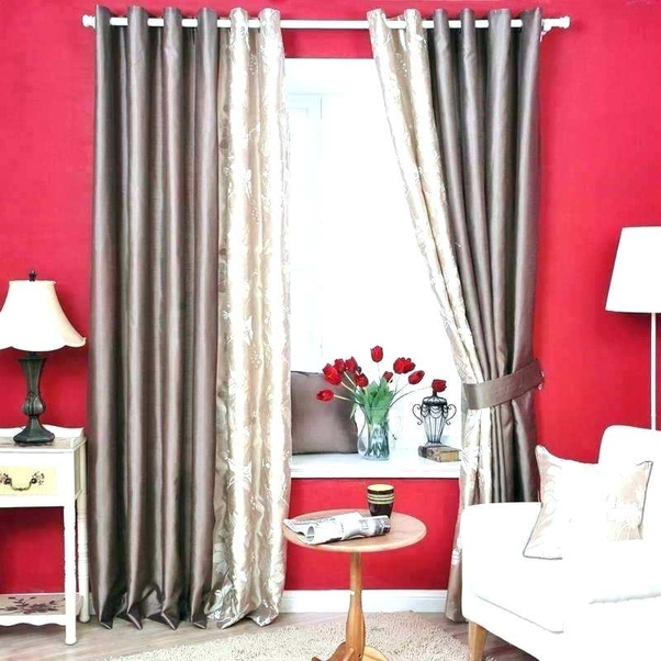 What Color Curtains Go Well With Red