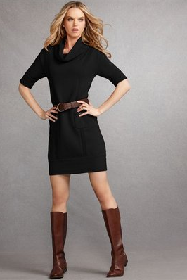 Cocktail Dresses with Boots