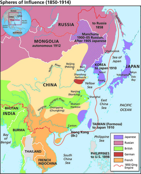how western imperialism affects china and japan Japanese imperialism: japanese imperialism differed from western imperialism in that it was the first conflict between china and japan over korea and.