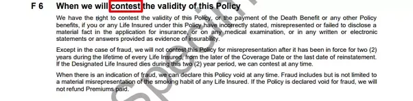 What is the contestable period in an insurance policy? - Quora