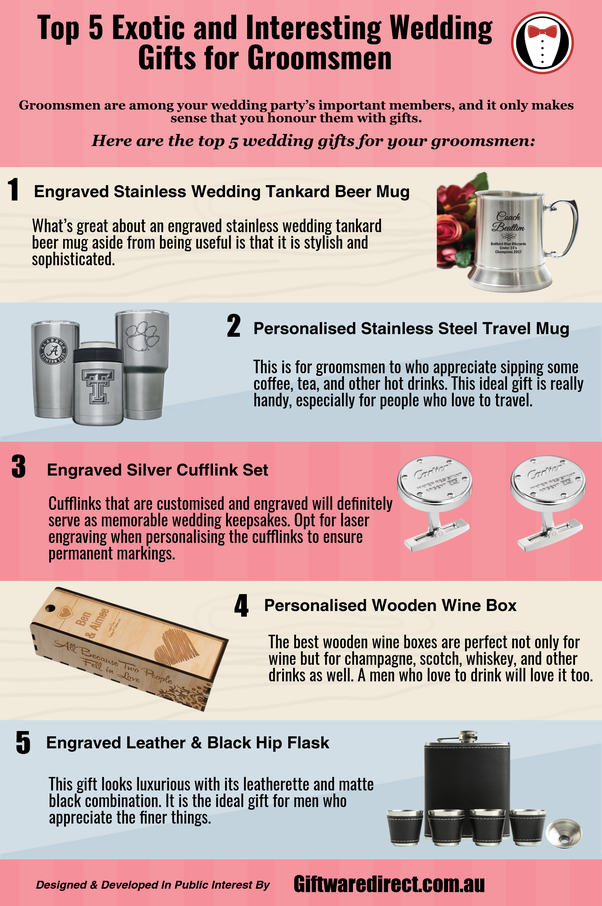 What Are Some Unique Groomsmen Gifts Quora