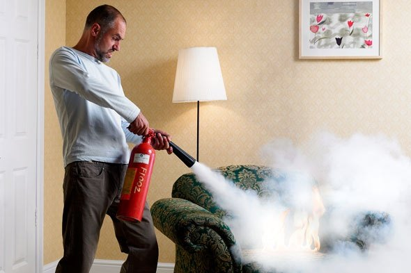 What Should One Do When Caught In A House Fire?