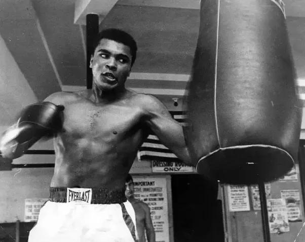 Muhammad Ali Training in Florida, an Archival Print - Art