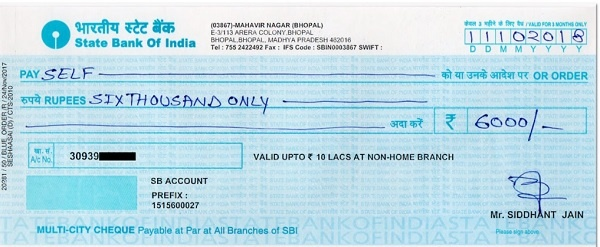 What Are The Different Types Of Cheques Issued In India Quora