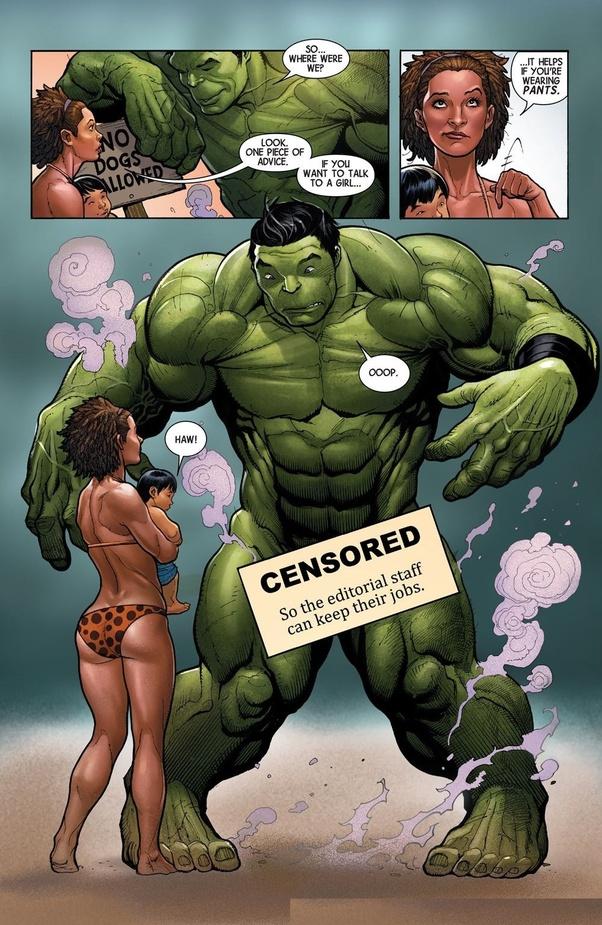 Incredible hulk bg dick