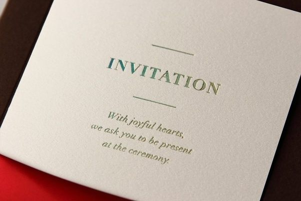 Why are invitationsgreeting cards important quora there are countless occasions all across the year when you need some invitation cards for gifting purpose m4hsunfo
