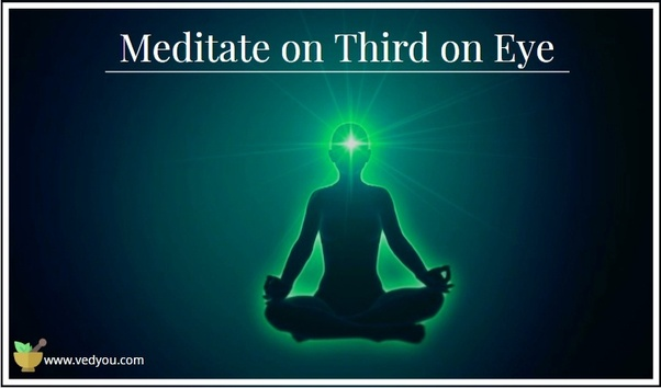 What are the meditation techniques for opening the third eye