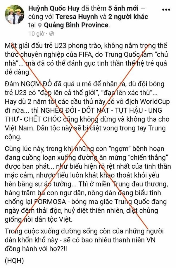What do Vietnamese anti-communists think about the ... Vietnamese Curse Words