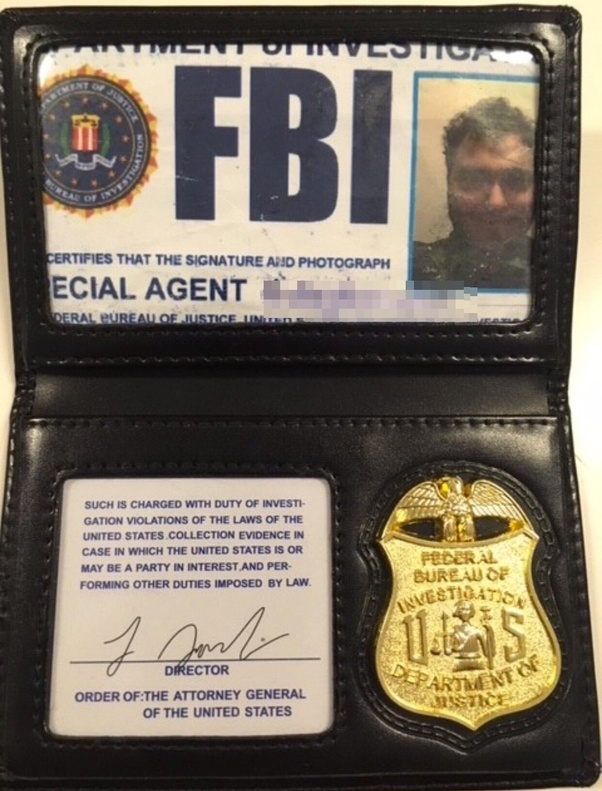 what does a real fbi id look like quora