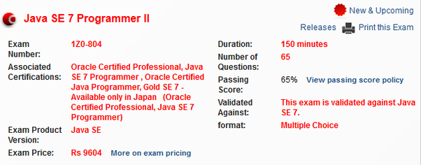 How to prepare for the OCPJP Certification Exam - Quora