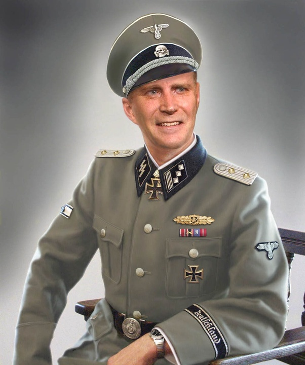 Could you be arrested in Germany today if you wore a Waffen