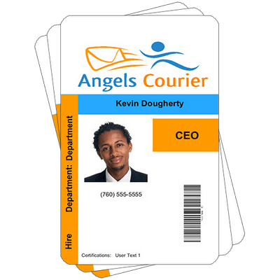 what is the cheapest way to make professional looking id cards for