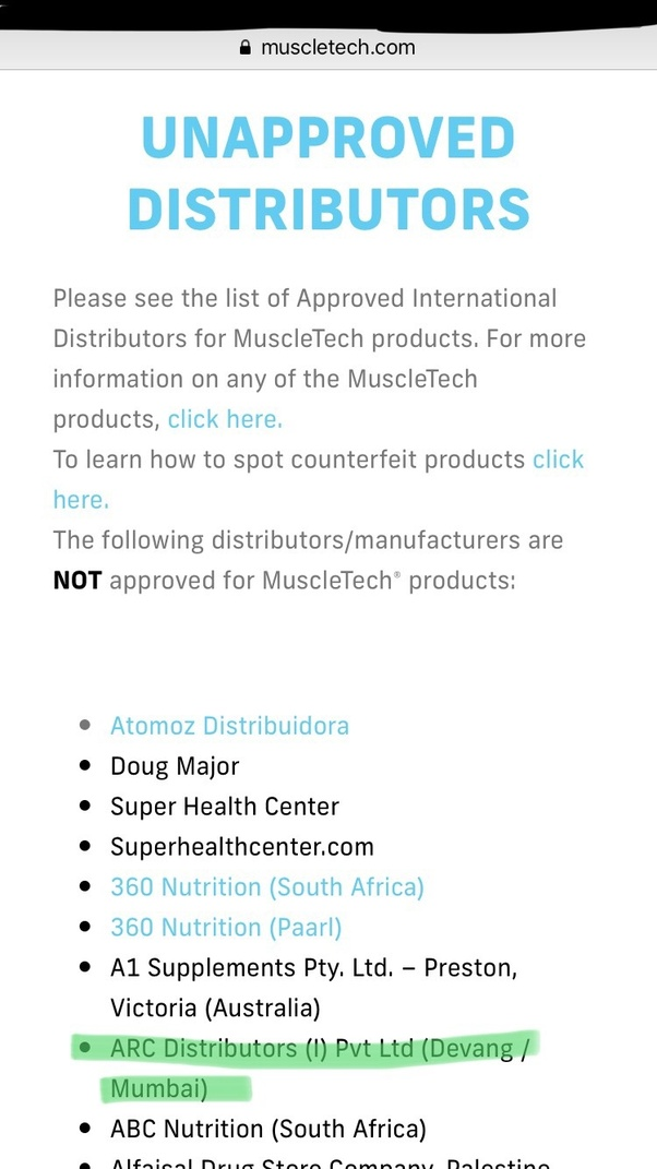 How to check the authenticity of Ultimate Nutrition 100% Whey