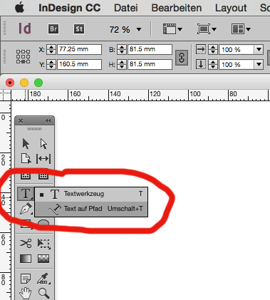 How To Place Text Inside A Circle In Indesign Quora