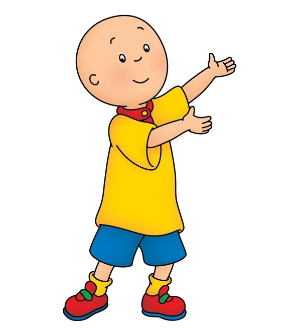 why is caillou bald quora