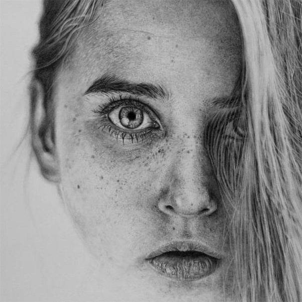 Monica lee is a malaysian pencil artist who is passionate about creating photo realistic drawings using her graphite pencils the main reason behind monica