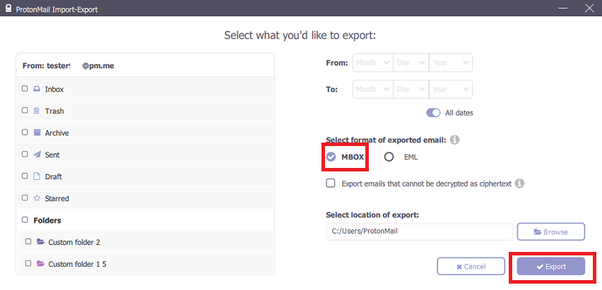 How to transfer emails from ProtonMail to a Gmail account - Quora