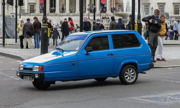Mr bean three wheel car