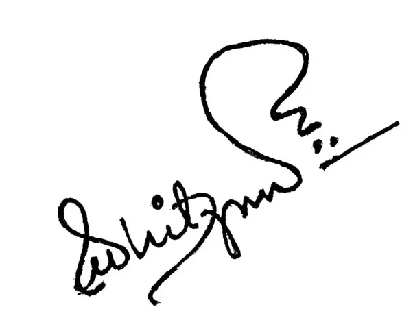 What are some good examples of unique personal signatures ...