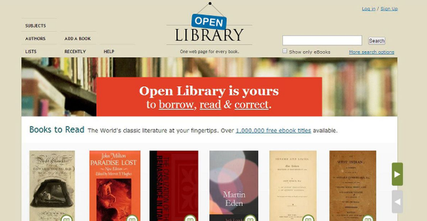 What is a good website for free books quora if you are looking out for any book which has more than one edition you will find all the editions listed on open library fandeluxe Images