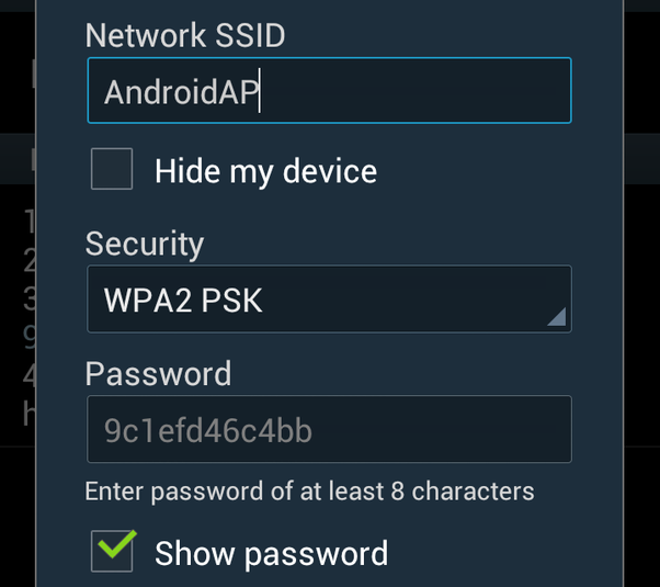 Is there any way to hide my android hotspot? - Quora