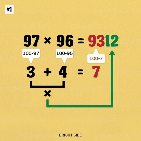 What are some useful mental math tricks? - Quora