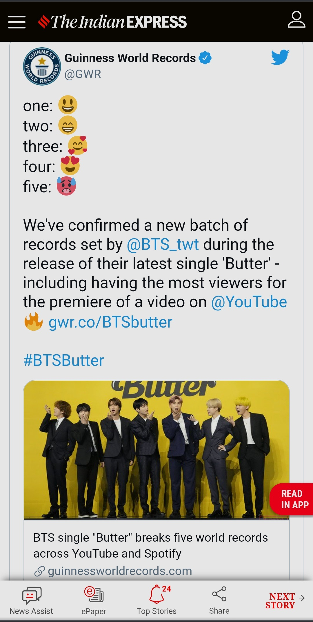 """Why are people saying that """"Butter"""" by BTS flopped/is flopping ..."""