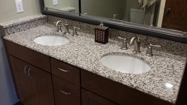 2 Tiger Skin White Granite Countertops