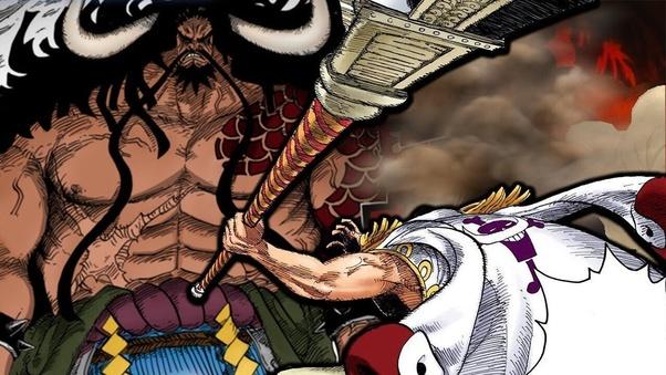 Is Kaido stronger than Whitebeard? - Quora