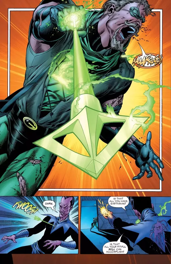 what are some interesting facts about dc s various colored lantern