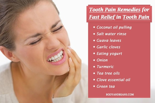 how to stop tooth ache if pain killers wont work