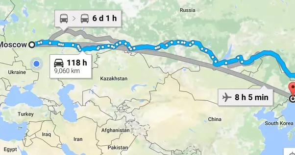 Why doesn\'t Google Maps give directions in Russia? - Quora