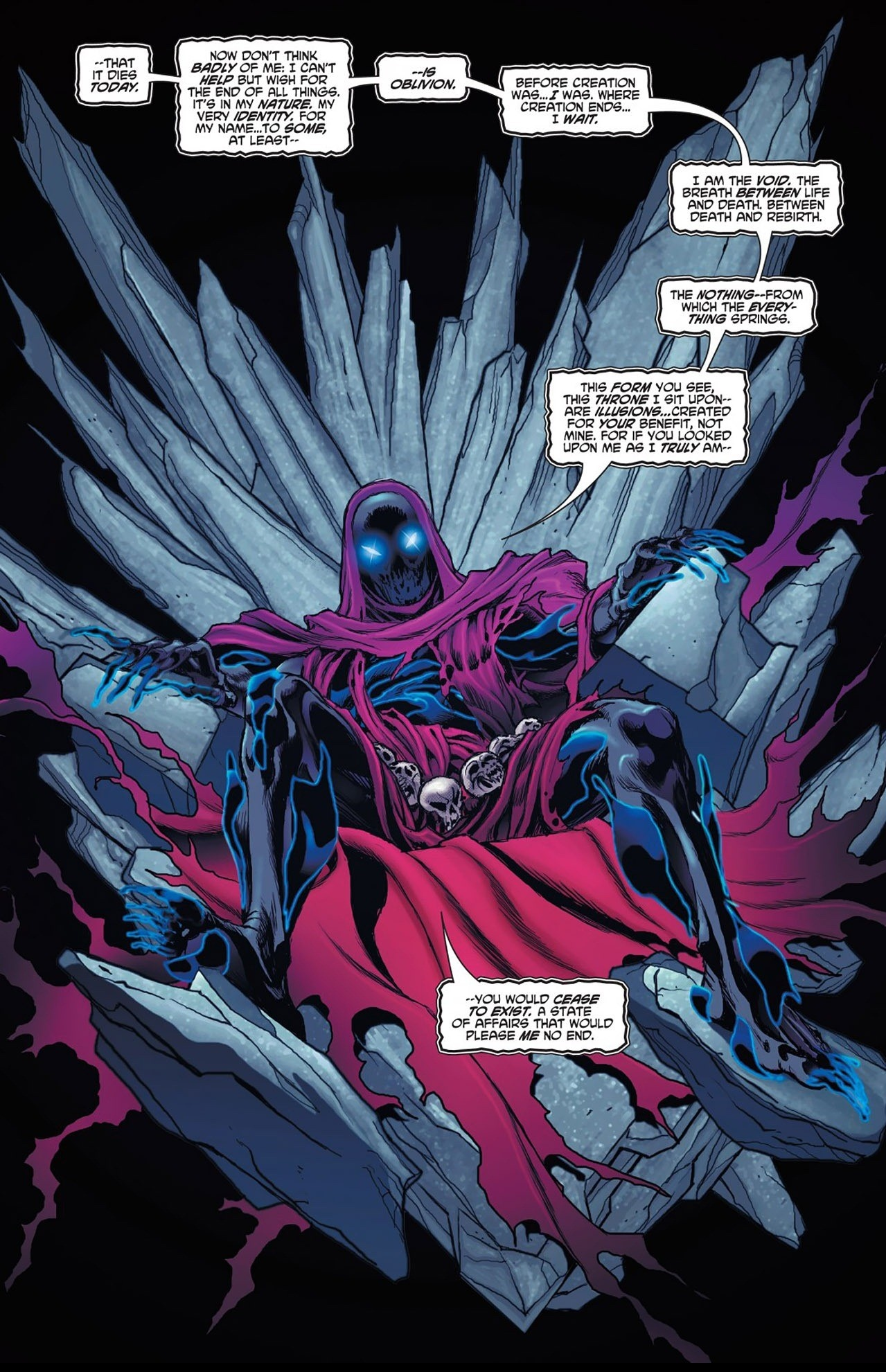 Who Is The Most Powerful And Dangerous Villain In Marvel Universe Here Comes Strongest Magnetic Field To Be Ever Created Oblivion A Character From Comics It Embodiment Of Nonexistence Residing Beyond Multiverse All Abstract Personifications That